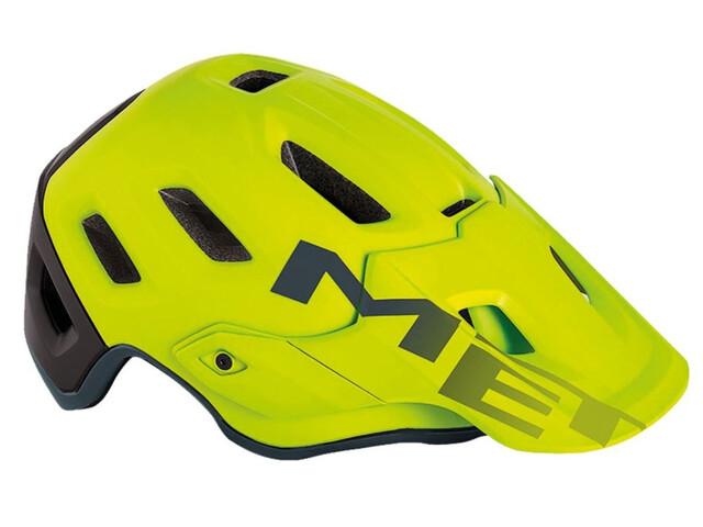 MET Roam casco per bici verde/nero